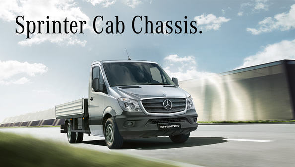 Mercedes-Benz Sprinter Cab Chassis 2018