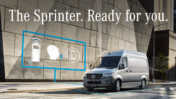 Mercedes-Benz Sprinter Campaign 2018 - Ready for you