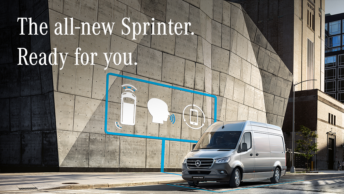 Mercedes-Benz The New Sprinter Campaign 2018