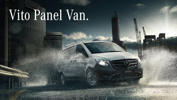 Mercedes-Benz Vito Panel Van 2018