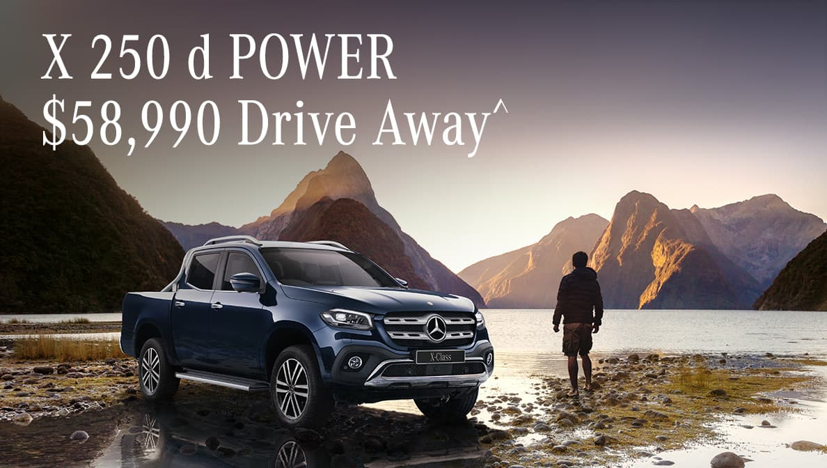 X-Class X 250 d POWER Drive Away